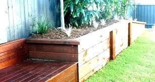 walls building a wooden garden ideas
