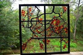 contemporary stained glass tree new