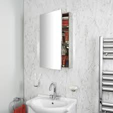 midi rectangular mirrored cabinet 670 x