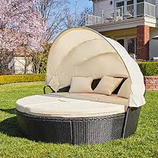 patio furniture round outdoor daybed