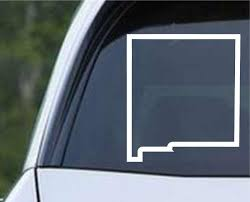 New Mexico State Outline Nm Usa America Die Cut Vinyl Decal Sticker Decals City