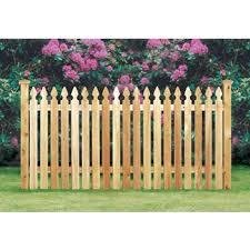 Cedar Picket Fence Taylor Style 3 High X 80 Linear Feet Wayside Fence Company