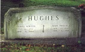Thomas Newton & Mary Priscilla Hughes