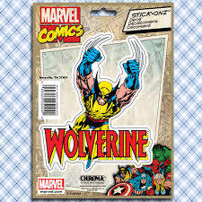 Marvel Wolverine Decal Car Truck Window Decal Sticker