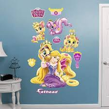 Amazon Com Fathead Palace Pets Rapunzel Collection X Large Officially Licensed Disney Removable Wall Decal Home Kitchen