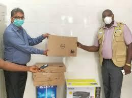 Indian Community Donates IT Equipment to EOC - Sierra Leone News - The  Calabash Newspaper