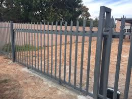 Palisade Fence Carport Omega Metalworks