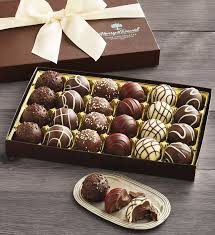 signature chocolate truffles gift box