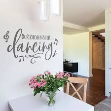 Our Kitchen Is For Dancing Wall Sticker Ebay