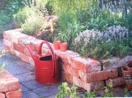 brick garden edging