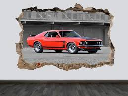 Classic Ford Mustang Old Ford Mustang Wall Decal Housewares Homedecor Etsymktgtool Classicfordmustang Oldford Muscle Cars Mustang Mustang Old Classic Cars