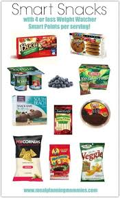smart snacks with 4 smart points or