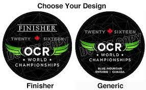 Ocrwc Finisher Official Decal Sticker Ocr World Championships 2016 Ca Reduced Ebay