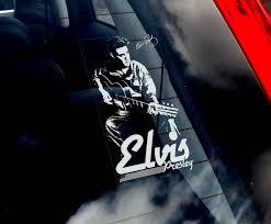 Elvis Presley Car Window Sticker Rock Window Stickers Car Window Stickers