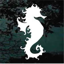 Seahorse Car Decals Stickers Decal Junky