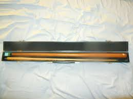 pot black stealth 2 piece pool cue from
