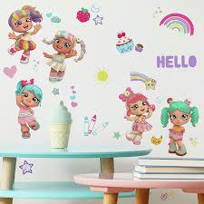 Roommates Kindi Kids Peel And Stick Wall Decals Amazon Com