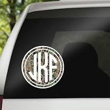 Amazon Com Vinyl Decal Real Tree Woods Camouflage Decal For Cars Tumblers Coolers Etc Handmade