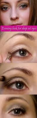 best eye makeup for deep set eyes