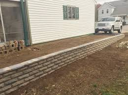 how to build a retaining wall step by