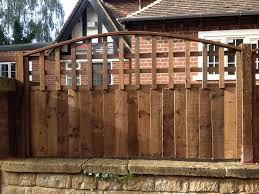 Bow Trellis Tops Paving And Fencing By Beechdale Fencing Ltd Of Nottingham