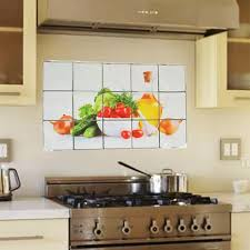 Vova Qualified High Quality Fruit Lecythus Anti Oil Stain Tile Decal Kitchen Decoration Wall Sticker