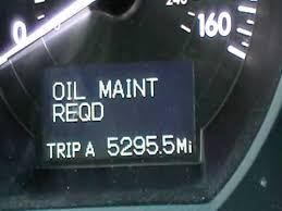 reset maint reqd light on lexus gs
