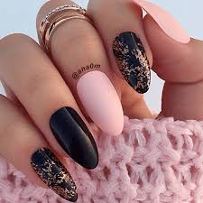75 oval shaped acrylic nail designs for