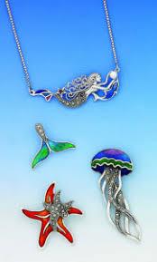 hand painted enamel marcasite jewelry