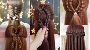 تسريحات شعر طويل بسيطة للعيد