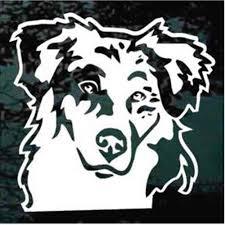 Australian Shepherd Decals Stickers Decal Junky
