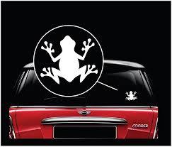 Frog Vinyl Window Decal Stickers A3 Sticker Flare Llc