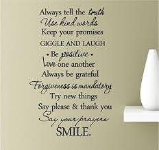 Always Tell The Truth Use Kind Words K Buy Online In Trinidad And Tobago At Desertcart