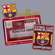 Car Sticker Barcelona Set Shopee Malaysia