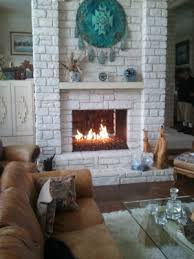 fireplace conversion to fire glass fire