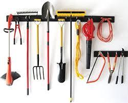 wallpeg peg rack organize garden tools