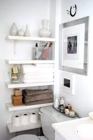 small bathroom best wall shelves