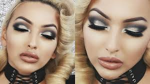 silver black new years eve look