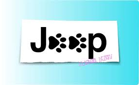 Jeep Dog Paw Print Vinyl Decal Islandgirl Dezigns