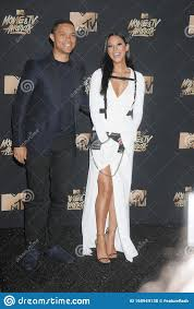 Jordyn Taylor & Trevor Noah Editorial Stock Photo - Image of personality,  famous: 168949138