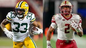 Aaron Jones: Packers drafting AJ Dillon is going to 'raise my game'