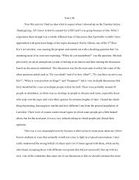 reflective essay exles for college