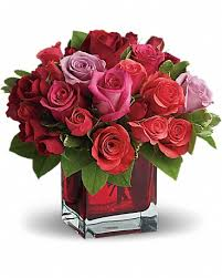 red roses by teleflora in othello wa