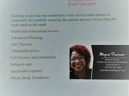 Myra Turner Services - Advance Funeral Specialist/Mobile Funeral Counselor