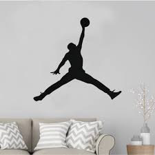 23 Air Jordan Jumpman Logo Huge Wall Decal Sticker For Car Mymonkeysticker Com