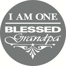 Blessed Grandpa Car Wall Decal Berome Online Store