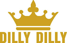Dilly Dilly Gold Block Cut Vinyl Not Buy Online In India At Desertcart