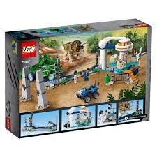 Lego 75937 Jurassic World Triceratops Rampage Dinosaur Toy Smyths Toys Ireland