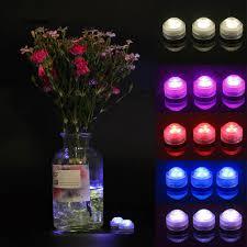 Đèn LED tròn chìm đổi màu điều khiển từ xa cho bể cá