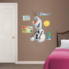 Amazon Com Fathead Olaf X Large Officially Licensed Disney Removable Wall Decal Home Kitchen